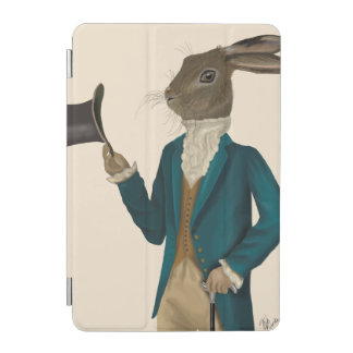 Hare In Turquoise Coat 2 iPad Mini Cover