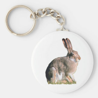 Hare Key Ring