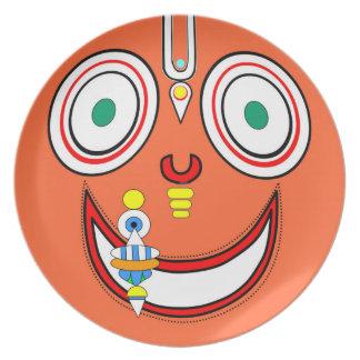 Hare Krishna Plate