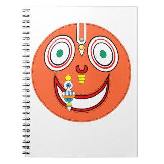 Hare Krishna Spiral Notebook