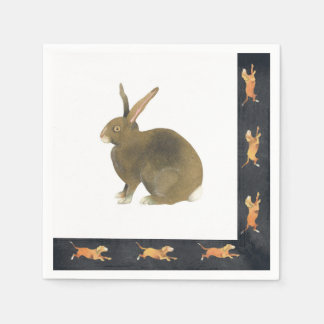 Hare of the Dog Disposable Serviettes
