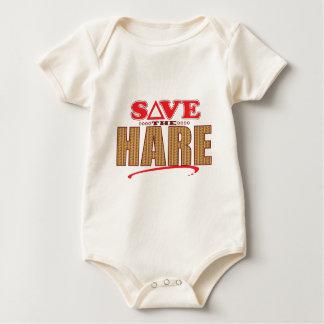 Hare Save Baby Bodysuit