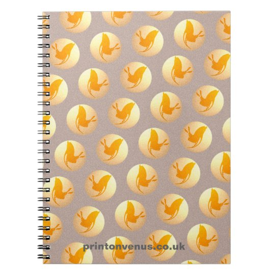 """""""Hare Tales"""" Spiral Photo Notebook"""