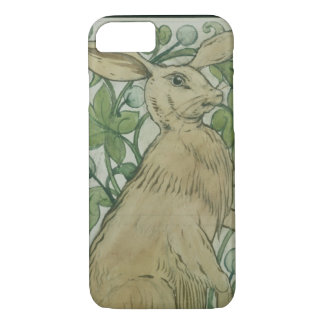 Hare (w/c on paper) iPhone 8/7 case