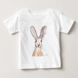 Hare watercolour painting baby T-Shirt