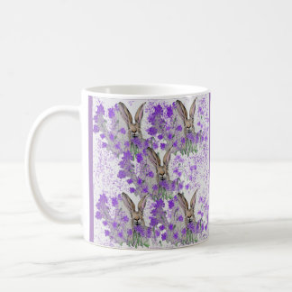 Hares in the Heather Coffee Mug