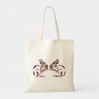 Hares Tote Bag