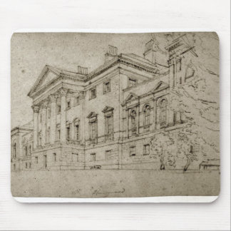 Harewood House, Yorkshire, c.1798 (graphite on tex Mouse Mat