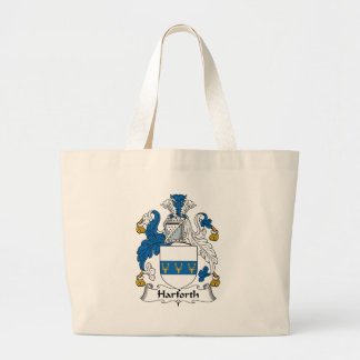 Harforth Family Crest Large Tote Bag