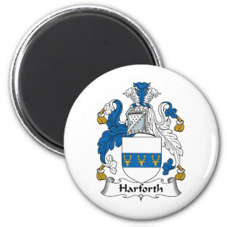 Harforth Family Crest Magnet