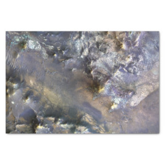 Hargraves Crater on Mars Tissue Paper