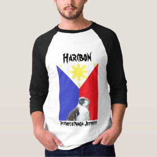 Haribon Basic 3/4 Sleeve Raglan T-Shirt