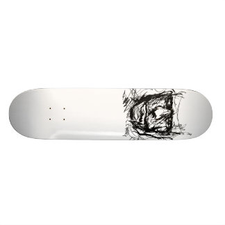 Haring Design Skate Board Deck