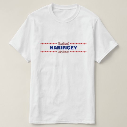 HARINGEY - My Home - England; Red &
