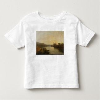 Harlech Castle, from Twgwyn Ferry, Summer's Evenin Toddler T-Shirt