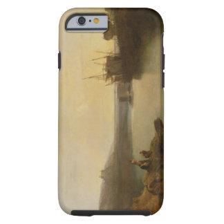 Harlech Castle, from Twgwyn Ferry, Summer's Evenin Tough iPhone 6 Case