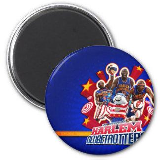 Harlem GlobeTrotter's Group Picture 6 Cm Round Magnet