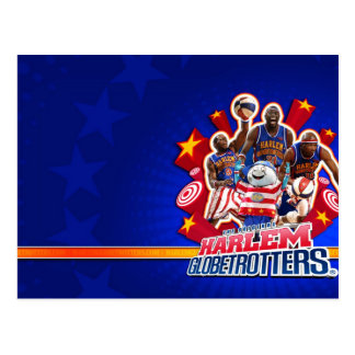 Harlem GlobeTrotter's Group Picture Postcard