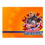 Harlem GlobeTrotter's Group Picture Postcard
