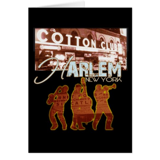 Harlem Greeting Card