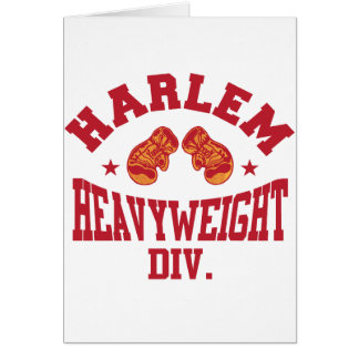 Harlem Heavyweight Red Card
