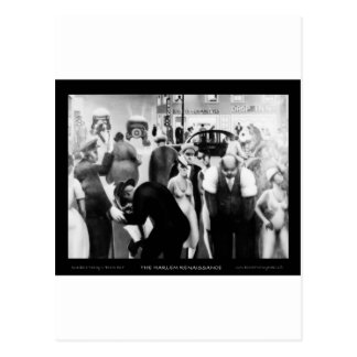 "Harlem Renaissance Art - ""Black Belt"" Postcard"