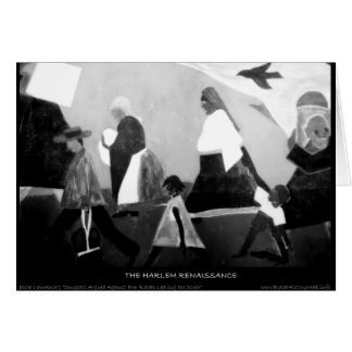 Harlem Renaissance Art - The Migration Series Card