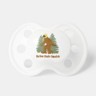 HARLEM SHAKE SQUATCH BABY PACIFIERS