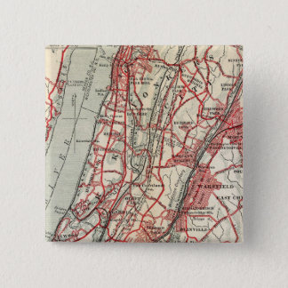 Harlem, Yonkers, Pelham Manor, New York 15 Cm Square Badge