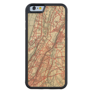 Harlem, Yonkers, Pelham Manor, New York Carved Maple iPhone 6 Bumper Case