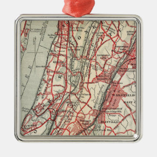Harlem, Yonkers, Pelham Manor, New York Christmas Ornament