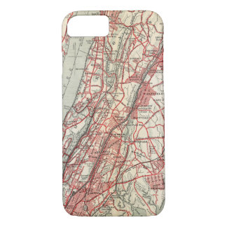 Harlem, Yonkers, Pelham Manor, New York iPhone 8/7 Case