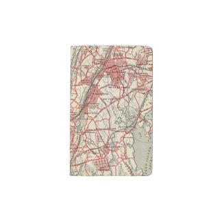 Harlem, Yonkers, Pelham Manor, New York Pocket Moleskine Notebook