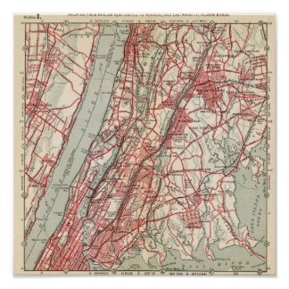 Harlem, Yonkers, Pelham Manor, New York Poster