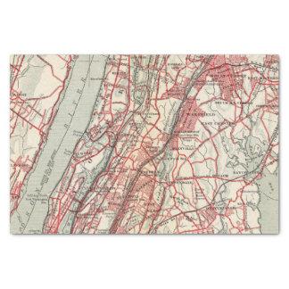 Harlem, Yonkers, Pelham Manor, New York Tissue Paper