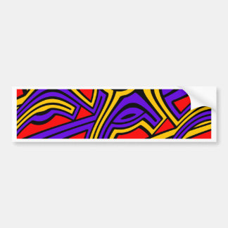 Harlequin Bumper Sticker