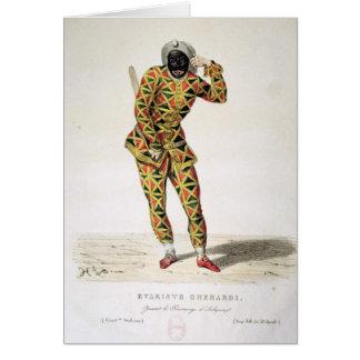 Harlequin Card