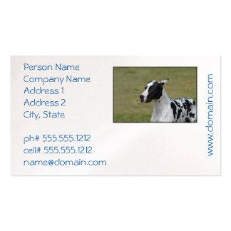 Harlequin Great Dane Pack Of Standard Business Cards