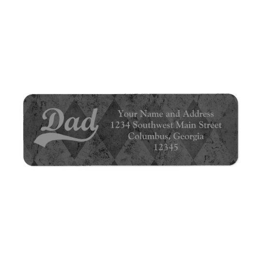 Harlequin Grey Shades Dad