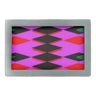 Harlequin Hot Pink Jokers Deck Belt Buckle