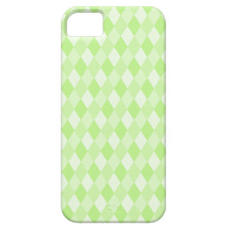 Harlequin in Green Barely There iPhone 5 Case
