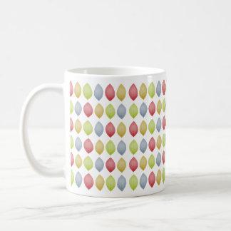 Harlequin leaves - mug