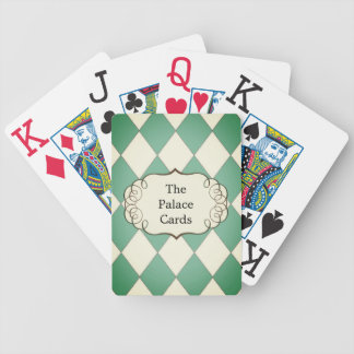 Harlequin_Palace-Cards-Template II_Royal Teal* Bicycle Playing Cards