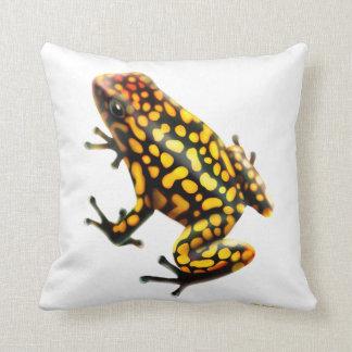 Harlequin Poison Dart Frog Pillow