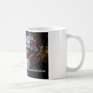 Harlequin Shrimp, Hymenocera picta, Coffee Mug