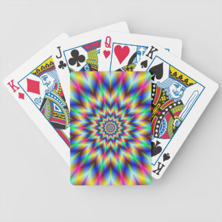 Harlequin Star Bicycle Playing Cards