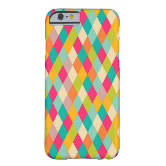 Harlequin vintage pattern barely there iPhone 6 case