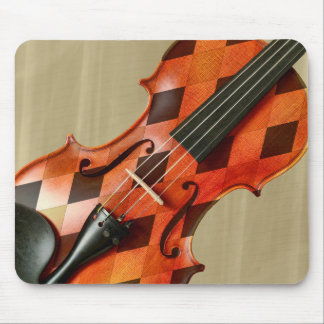 Harlequin Violin Mouse Mat