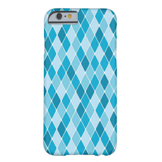 Harlequin winter pattern barely there iPhone 6 case