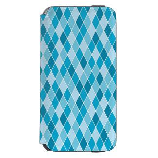 Harlequin winter pattern incipio watson™ iPhone 6 wallet case